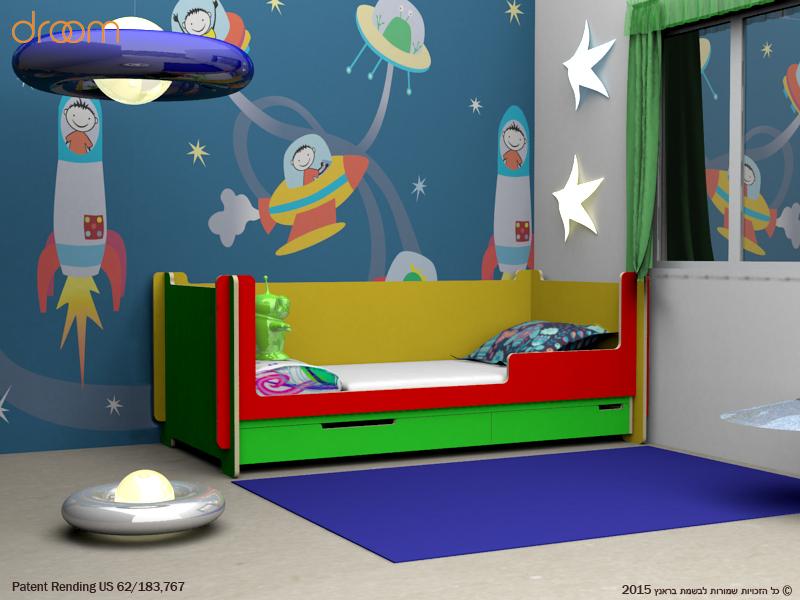חדרי ילדים בעיצוב אישי